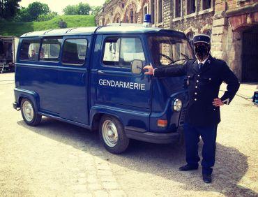 Estafette gendarmerie