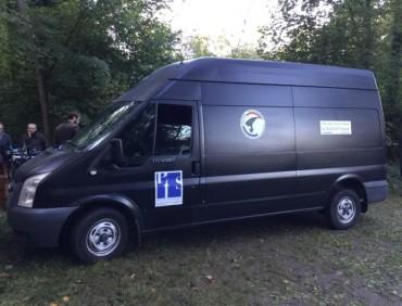Location véhicule cinéma publicité Fourgon Ford