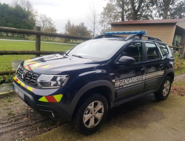 Duster Gendarmerie 2019 AV