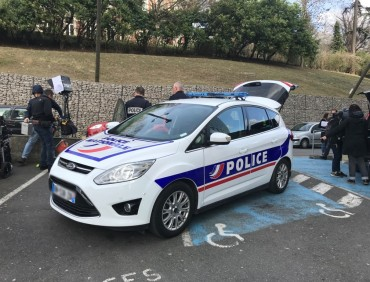 Ford C max POLICE bis
