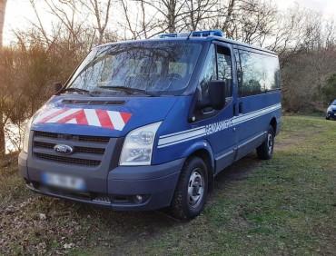 Ford Transit gendarmerie AV 2