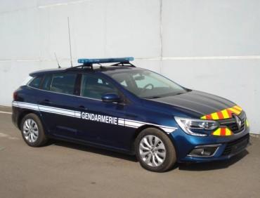 Megane 4 gendarmerie