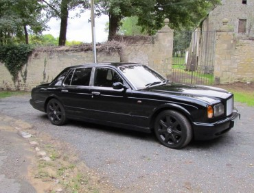bentley arnage full black