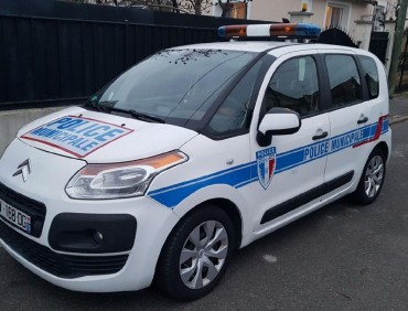 citroen C3 picasso  Police Municipale av